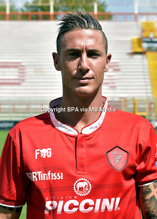 Italian League Serie B_2015-2016 / <br /> ( AC Perugia 1905 ) - <br /> Matteo Ardemagni