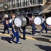 Marching - MLK Day Parade