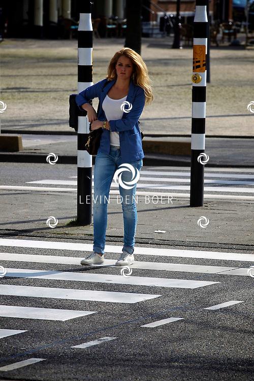 AMSTERDAM - SBS6 Presenteerde de nieuwe serie De Schat Van De Oranje.  Met op de foto Liza Sips. FOTO LEVIN DEN BOER - PERSFOTO.NU