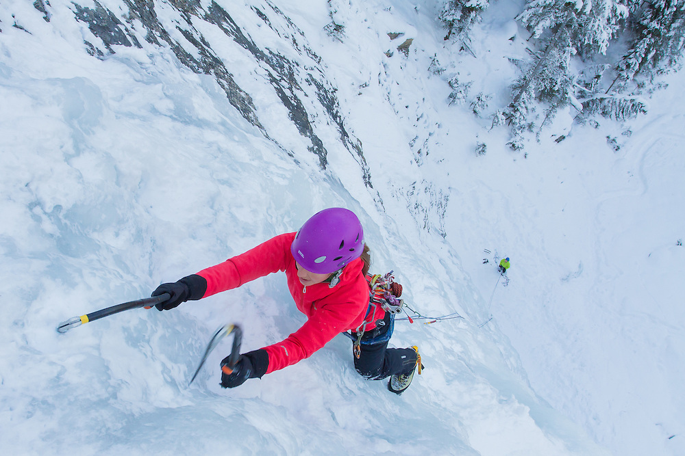 Ice Climbing Guiness Gully