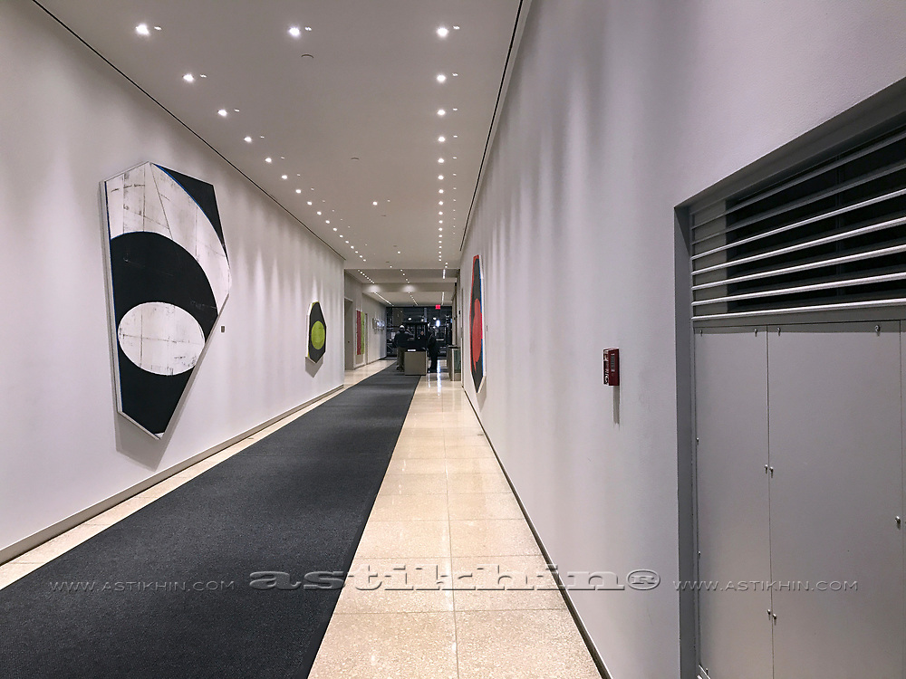 Lobby in New York City.
