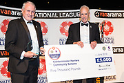 Kidderminster Harriers, Best Community Programme during the National League Gala Awards at Celtic Manor Resort, Newport, United Kingdom on 8 June 2019.