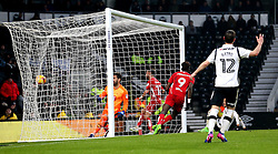 Tammy Abraham of Bristol City scores a goal to make it 3-0 - Mandatory by-line: Robbie Stephenson/JMP - 11/02/2017 - FOOTBALL - iPro Stadium - Derby, England - Derby County v Bristol City - Sky Bet Championship