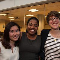 LEAP Symposium Presenters (L-R) Quynh Ngo, Ashley Bair, Jelena Jezdimirovic, Mount Holyoke College, 10/18/2013