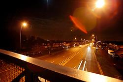 UK ENGLAND LONDON 18NOV10 - Potential LED street lighting test site at the A40 in Greenford, west London...jre/Photo by Jiri Rezac..© Jiri Rezac 2010