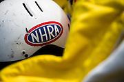 April 22-24, 2016: NHRA 4 Wide Nationals: NHRA safety crew helmet