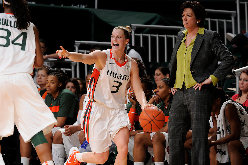 2012 Miami Hurricanes Women's Basketball vs Wake Forest