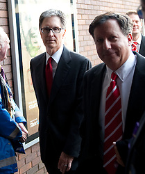 17.10.2010, Goodison Park, Liverpool, ENG, PL, Everton FC vs Liverpool FC, im Bild Liverpool's new owner John W. Henry arrives at Goodison Park ahead of the 214th Merseyside Derby against Everton, EXPA Pictures © 2010, PhotoCredit: EXPA/ Propaganda/ D. Rawcliffe *** ATTENTION *** UK OUT!