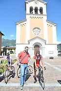 Ciclismo Giovanile, Prova percorso dei campionati italiani terme comano di esordienti e allievi con Daniel Oss, Comano Terme 9 giugno 2016 © foto Daniele Mosna