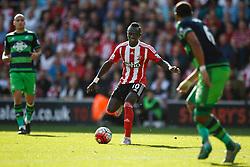 Southampton's Sadio Mane in action - Mandatory by-line: Jason Brown/JMP - 07966 386802 - 26/09/2015 - FOOTBALL - Southampton, St Mary's Stadium - Southampton v Swansea City - Barclays Premier League