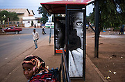 An advert for the 50 % campaign in Moshi bus station. Tanzania's national population statistics reveal a startling truth - more than half of the country is comprised of children and youth. In 2002, it was reported that 55% of the population is 19 years of age or younger. In 2005, it was revealed that a full 45.8% of Tanzania's population is actually under the tender age of 15. In direct response to the urgency of the situation for Tanzania's children and its national future, the Caucus for Children's Rights has launched a campaign to spark national awareness that Tanzania's future depends on the treatment of Tanzania's children today.  2008 STARS Impact Award winner for Protection: Moshi-based Mkombozi, selected for its holistic approach to stemming the tide of Tanzania's street children by providing housing, education, research, advocacy, and outreach for vulnerable children and youth, aimed at ending their abuse and neglect and ensuring their dignity and rights.