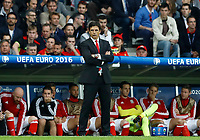 Wales coach Chris Coleman<br /> Lille 01-07-2016 Stade Pierre Mauroy Football Euro2016 Wales - Belgium / Galles - Belgio <br /> Quarter-finals. Foto Matteo Ciambelli / Insidefoto
