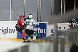 PESUT Ziga of HK SZ Olimpija during Alps League Ice Hockey match between HDD SIJ Jesenice and HK SZ Olimpija on December 20, 2019 in Ice Arena Podmezakla, Jesenice, Slovenia. Photo by Peter Podobnik / Sportida