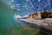 Waving at Laguna Beach California