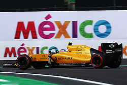 Jolyon Palmer (GBR) Renault Sport F1 Team RS16.<br /> 28.10.2016. Formula 1 World Championship, Rd 19, Mexican Grand Prix, Mexico City, Mexico, Practice Day.<br /> Copyright: Batchelor / XPB Images / action press