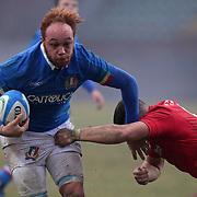20190210 Rugby, 6 nazioni U20 : Italia vs Galles