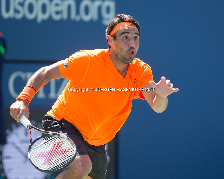 MARCOS BAGHDATIS (CYP)<br /> <br /> Tennis - US Open 2016 - Grand Slam ITF / ATP / WTA -  USTA Billie Jean King National Tennis Center - New York - New York - USA  - 4 September 2016.