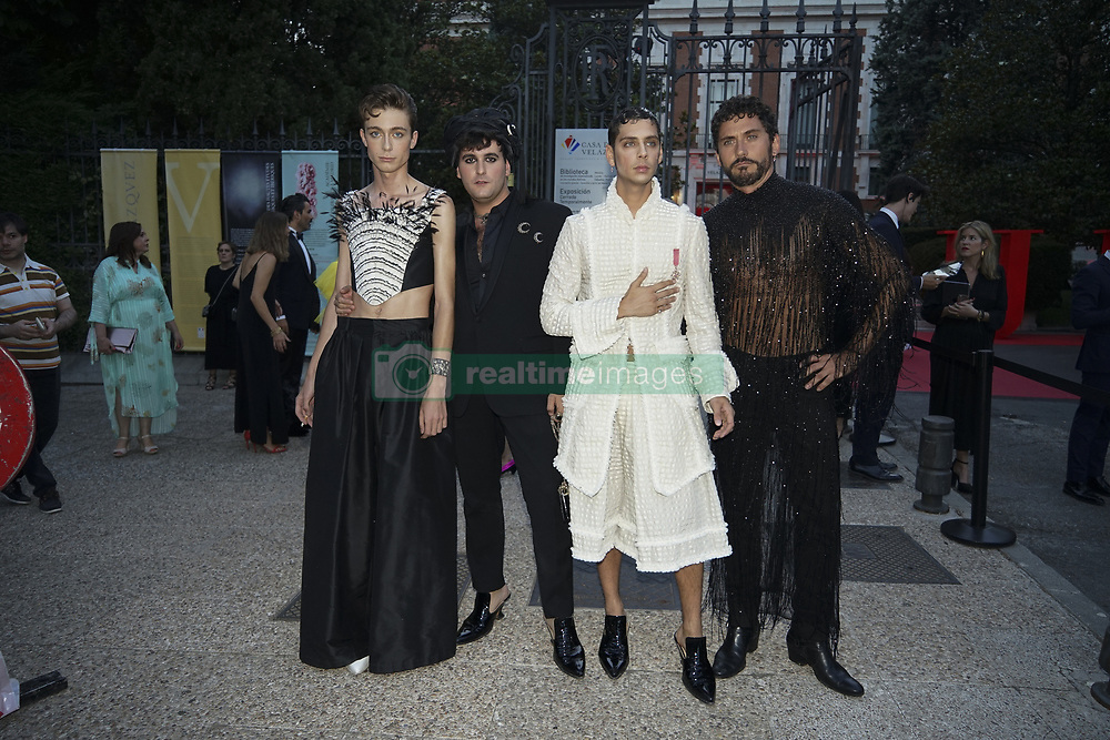 July 12, 2018 - Madrid, Spain - Palomo Spain attends Vogue 30th Anniversary Party at Casa Velazquez on July 12, 2018 in Madrid, Spain. (Credit Image: © Oscar Gonzalez/NurPhoto via ZUMA Press)