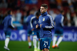 March 22, 2019 - Madrid, MADRID, SPAIN - a24-during the international friendly football match played between Argentina and Venezuela at Wanda Metropolitano Stadium in Madrid, Spain, on March 22, 2019. (Credit Image: © AFP7 via ZUMA Wire)