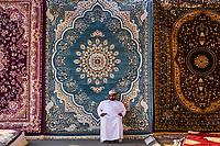 Sultanat d'Oman, gouvernorat de Ash Sharqiyah, Sinaw, jour de marché  // Sultanate of Oman, Al Sharqiya Region, Sinaw, market day