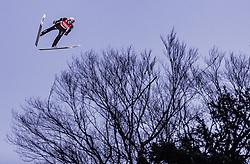 02.02.2019, Heini Klopfer Skiflugschanze, Oberstdorf, GER, FIS Weltcup Skiflug, Oberstdorf, im Bild Dawid Kubacki (POL) // Dawid Kubacki of Poland during his Jump of FIS Ski Jumping World Cup at the Heini Klopfer Skiflugschanze in Oberstdorf, Germany on 2019/02/02. EXPA Pictures © 2019, PhotoCredit: EXPA/ JFK
