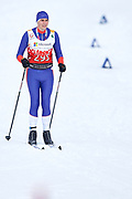 Schladming, Austria - 2017 March 20: Dusan Lekic from SO Serbia competes in Cross Country Race while Special Olympics World Winter Games Austria 2017 in Ramsau am Dachstein on March 20, 2017 in Schladming, Austria.<br /> <br /> Mandatory credit:<br /> Photo by &copy; Adam Nurkiewicz / Mediasport<br /> <br /> Adam Nurkiewicz declares that he has no rights to the image of people at the photographs of his authorship.<br /> <br /> Picture also available in RAW (NEF) or TIFF format on special request.<br /> <br /> Any editorial, commercial or promotional use requires written permission from the author of image.<br /> <br /> Image can be used in the press when the method of use and the signature does not hurt people on the picture.