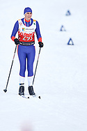 Schladming, Austria - 2017 March 20: Dusan Lekic from SO Serbia competes in Cross Country Race while Special Olympics World Winter Games Austria 2017 in Ramsau am Dachstein on March 20, 2017 in Schladming, Austria.<br /> <br /> Mandatory credit:<br /> Photo by © Adam Nurkiewicz / Mediasport<br /> <br /> Adam Nurkiewicz declares that he has no rights to the image of people at the photographs of his authorship.<br /> <br /> Picture also available in RAW (NEF) or TIFF format on special request.<br /> <br /> Any editorial, commercial or promotional use requires written permission from the author of image.<br /> <br /> Image can be used in the press when the method of use and the signature does not hurt people on the picture.