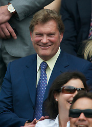 LONDON, ENGLAND - Saturday, June 26, 2010: Former England manager Glenn Hoddle in the Royal Box on Centre Court on day six of the Wimbledon Lawn Tennis Championships at the All England Lawn Tennis and Croquet Club. (Pic by David Rawcliffe/Propaganda)