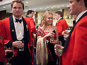 OLIVER LIPPIAT; ATHENE LEADBETTER, The Royal Caledonian Ball 2010. Grosvenor House. Park Lane. London. 30 April 2010 *** Local Caption *** -DO NOT ARCHIVE-© Copyright Photograph by Dafydd Jones. 248 Clapham Rd. London SW9 0PZ. Tel 0207 820 0771. www.dafjones.com.<br />