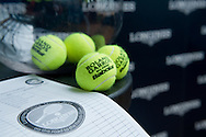 Official draw before the Longines Future Tennis Aces 2014 at Tuan Tennis Club in Jozefoslaw near Warsaw on April 11, 2014.<br /> <br /> Poland, Warsaw, April 11, 2014<br /> <br /> Picture also available in RAW (NEF) or TIFF format on special request.<br /> <br /> For editorial use only. Any commercial or promotional use requires permission.<br /> <br /> Mandatory credit:<br /> Photo by © Adam Nurkiewicz / Mediasport