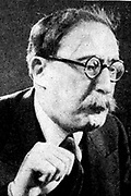 Leon Blum (1872-1950) French Jewish politician, Prime Minister 1936-1937, 1938, 1946-1947. Arrested by Vichy government 1942. In April 1943 deported by Germans and held in Buchenwald concentration camp until 1945.