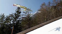 17.03.2012, Planica, Kranjska Gora, SLO, FIS Ski Sprung Weltcup, Team Skifliegen, im Bild Robert Kranjec (SLO),  during the FIS Skijumping Worldcup Flying Hill Team, at Planica, Kranjska Gora, Slovenia on 2012/03/17. EXPA © 2012, PhotoCredit: EXPA/ Oskar Hoeher.