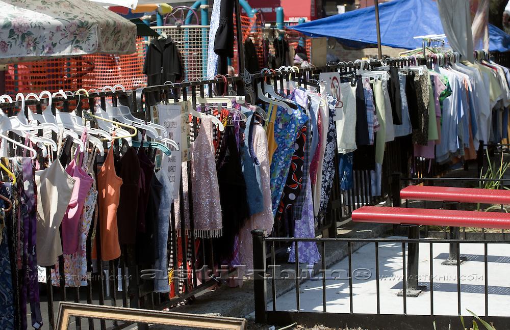 Street flea market