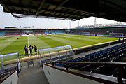 General view inside Glanford Park during the EFL Sky Bet League 1 match between Scunthorpe United and AFC Wimbledon at Glanford Park, Scunthorpe, England on 30 March 2019.