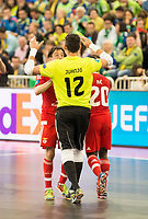 Benfica's Juanjo during UEFA Futsal Cup 2015/2016 3º/4º place match. April 22,2016. (ALTERPHOTOS/Acero)