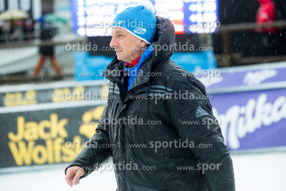 Borut Pahor, president of Slovenia after the 2nd Run of 7th Ladies' Slalom at 51st Golden Fox of Audi FIS Ski World Cup 2014/15, on February 22, 2015 in Pohorje, Maribor, Slovenia. Photo by Vid Ponikvar / Sportida