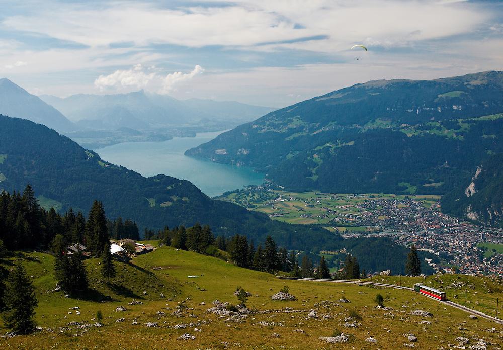 Switzerland - Thuner lake view from Schynige Platte