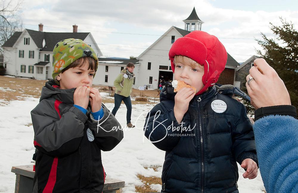 Prescott Farm's 2nd annual Winter Fest on Saturday,  February 18,  2012.