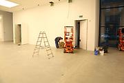 Mannheim. 08.11.17 | Zum Neubau Kunsthalle<br /> Innenstadt. Kunsthalle. Pressegespräch zum Neubau der Neuen Kunsthalle. Die Eröffnung der Neuen Kunsthalle im Dezember nur mit Skulpturen - keine Gemälde wegen technischen Verzögerungen.<br /> <br /> <br /> <br /> <br /> BILD- ID 01562 |<br /> Bild: Markus Prosswitz 08NOV17 / masterpress (Bild ist honorarpflichtig - No Model Release!)