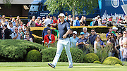 Justin ROSE walking to the first hole and tee during the 4th day of the BMW PGA Championship at Wentworth, Virginia Water, United Kingdom on 24 May 2015. Photo by Ellie  Hoad.