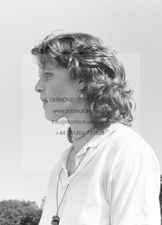 SARAH, DUCHESS OF YORK at the Gold Cup polo held at Cowdray Park in July 1978.  IFR 62 WO