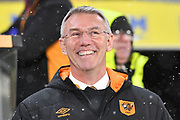 Hull City manager Nigel Adkins during the EFL Sky Bet Championship match between Hull City and Barnsley at the KCOM Stadium, Kingston upon Hull, England on 27 February 2018. Picture by Ian Lyall.