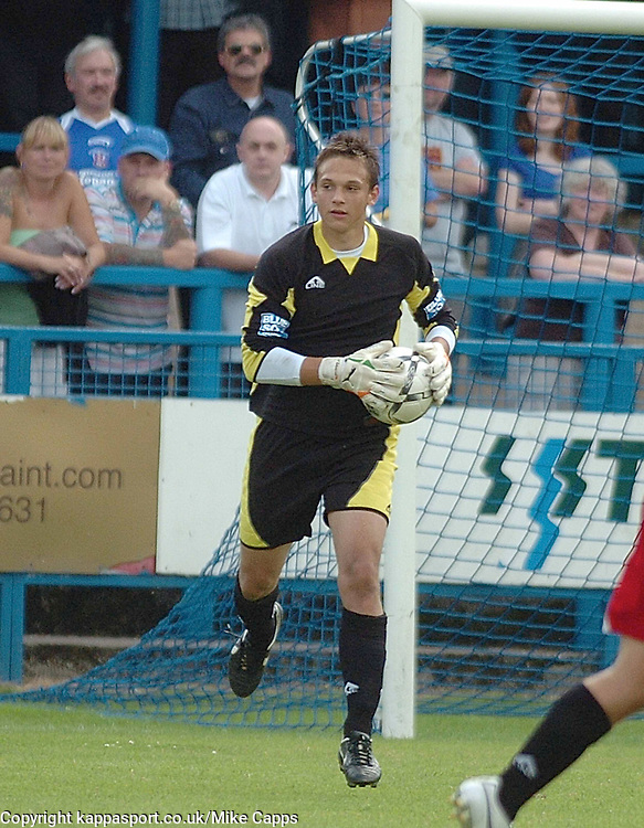 JAMES McKEOWN, Keeper, Kettering Town, Stalybridge Celtic - Kettering Town, Blue Square Conference North 11/8/2007