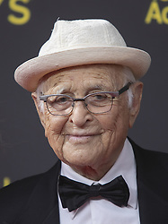 September 14, 2019, Los Angeles, California, United States of America: Norman Lear at the red carpet of the 2019 Creative Arts Emmy Awards on Saturday September 14, 2019 at the Microsoft Theater in Los Angeles, California. JAVIER ROJAS/PI (Credit Image: © Prensa Internacional via ZUMA Wire)