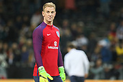 Joe Hart of England in warm up during the International Friendly match between Germany and England at Signal Iduna Park, Dortmund, Germany on 22 March 2017. Photo by Phil Duncan.