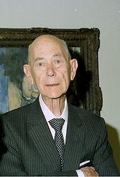 SIR EDWIN MANTON who donated £7 million to The Tate Gallery, at a reception in London on 21st July 1997.MAN 54
