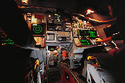 Offensive & Defensive Avionics stations of the B-1B bomber cockpit at Edwards AFB, California. The Boeing (formerly Rockwell) B-1B Lancer is a long-range strategic bomber in service with the United States Air Force (USAF). Together with the B-52 Strato-fortress and the B-2 Spirit, it is the backbone of the United States' long-range bomber force.