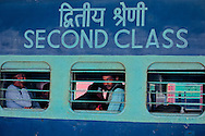 Train stopped at Jaipur's central station