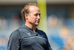 Sep 10, 2016; Morgantown, WV, USA; West Virginia Mountaineers head coach Dana Holgorsen stands on the sidelines during the first quarter against the Youngstown State Penguins at Milan Puskar Stadium. Mandatory Credit: Ben Queen-USA TODAY Sports