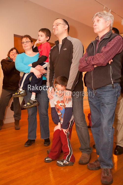 Wadsworth Atheneum Museum of Art's Last Saturdays for Families event